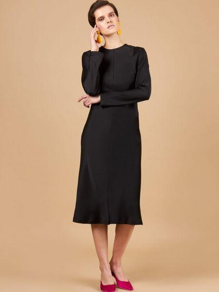 Платье миди на молнии с рукавами 12storeez