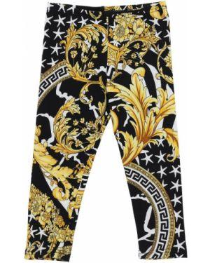 Spodnie plac z nadrukiem Versace