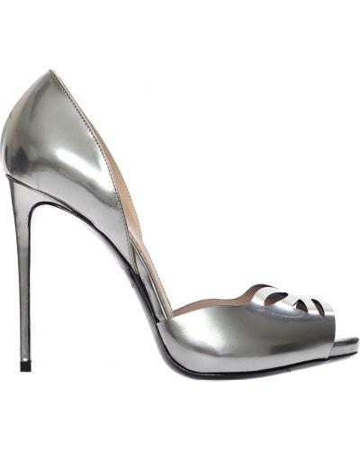 Кожаные туфли на каблуке Le Silla