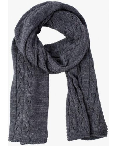 Серый шарф осенний Fomas