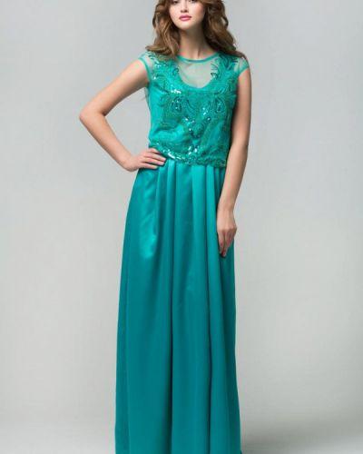 Вечернее платье - бирюзовое Ricamare