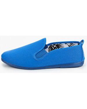 Хлопковые синие слипоны Flossy Style