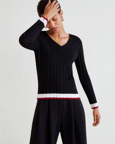 Черный пуловер Mango