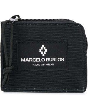 Черный кошелек Marcelo Burlon County Of Milan Kids