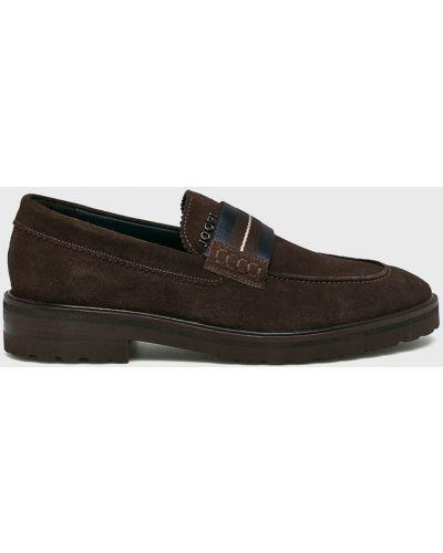 Кожаные туфли замшевые Joop!