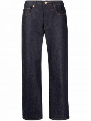 Классические брюки - синие A.p.c.