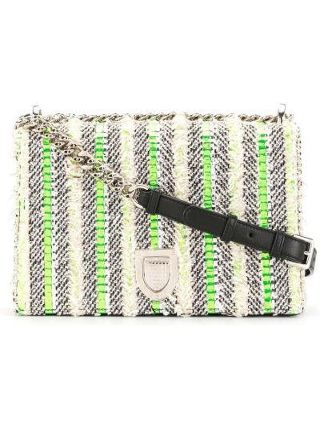 Кожаная сумка Christian Dior