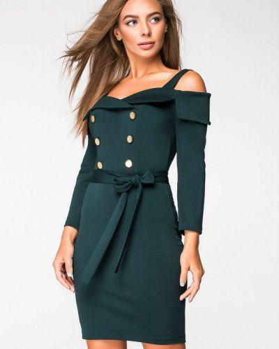 Вечернее платье осеннее зеленый Itelle