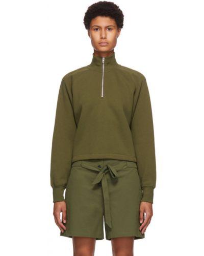 Bawełna bawełna sweter z kołnierzem z długimi rękawami Rag & Bone