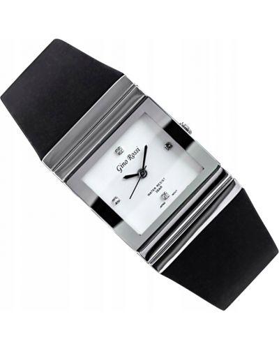 Klasyczna czarna sukienka srebrna Gino Rossi