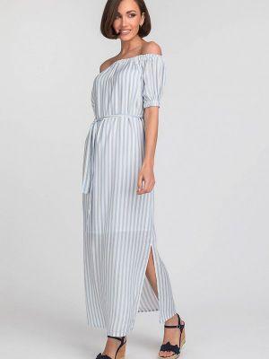 Платье - голубое Gloss