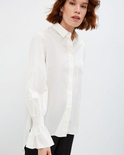 Белая зимняя рубашка Akris Punto