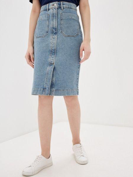 Джинсовая юбка весенняя Selected Femme