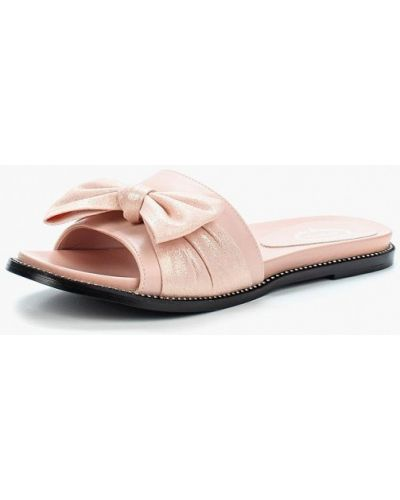 Розовое сабо кожаные Avenir