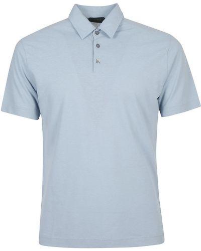 Niebieska koszulka Incotex