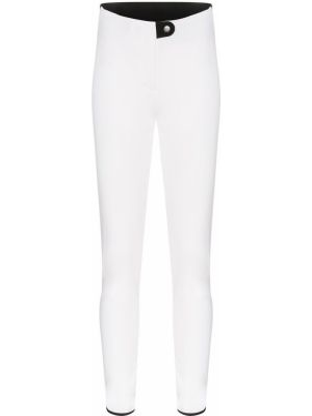Белые мягкие горнолыжные брюки софтшелл Colmar