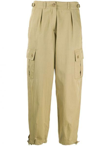 Spodnie z kieszeniami z paskiem Aspesi