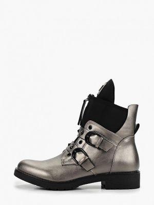 Ботинки на каблуке замшевые на каблуке Saivvila