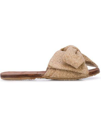 Сандалии коричневый на каблуке Brother Vellies