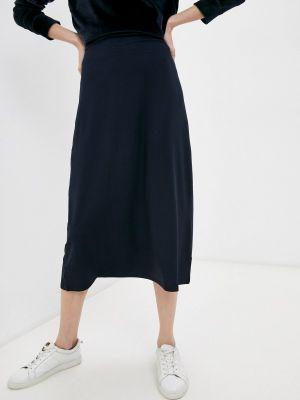 Синяя зимняя юбка Max Mara Leisure