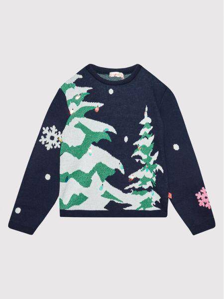 Sweter granatowy Billieblush