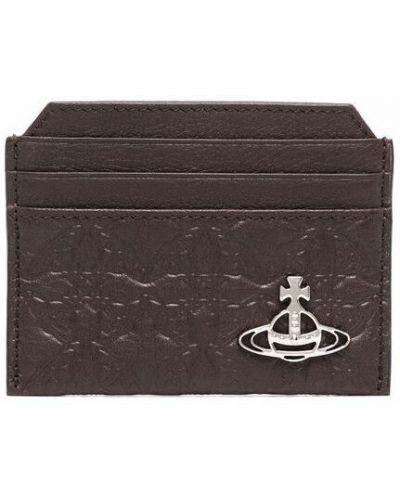 Brązowy portfel Vivienne Westwood