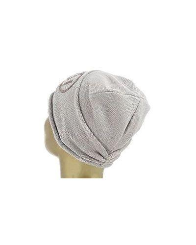 Серая шапка Armani Jeans