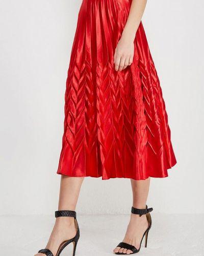 Красная юбка весенняя Paccio