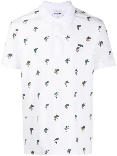 Koszula krótkie z krótkim rękawem klasyczna prosto Lacoste