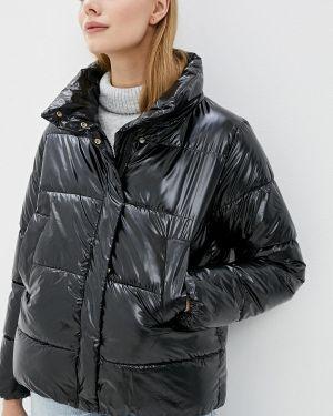 Утепленная куртка демисезонная черная Fresh Cotton