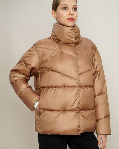 Утепленная куртка золотая O'stin