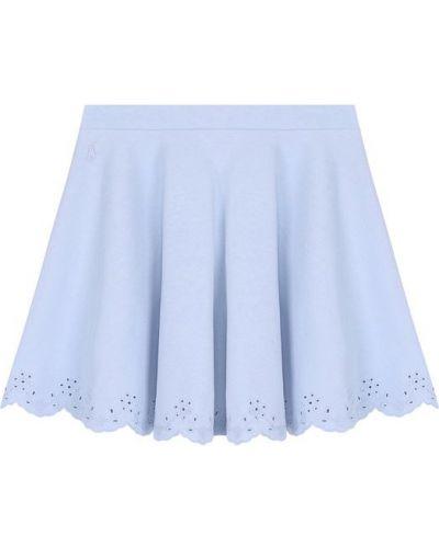 Юбка макси с вышивкой с поясом Polo Ralph Lauren