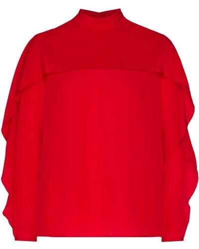 Блузка с бантом шелковая Red Valentino