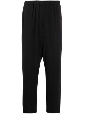 Шелковые черные брюки Eileen Fisher