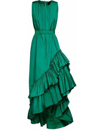 Платье с поясом на пуговицах с карманами Max Mara