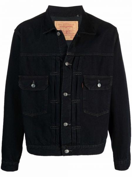 Klasyczne jeansy - czarne Levis Made & Crafted