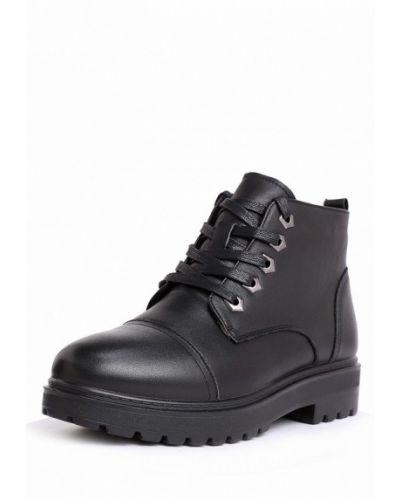 Кожаные ботинки осенние низкие Alessio Nesca