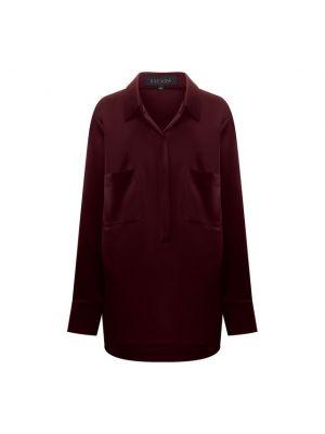 Блузка из полиэстера - красная Escada