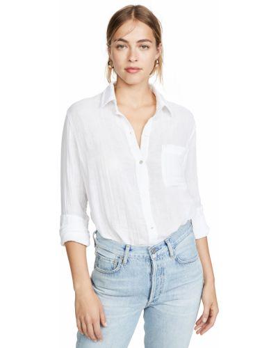 Рубашка с воротником - белая Rails