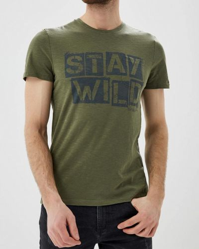 Зеленая футболка Tom Tailor