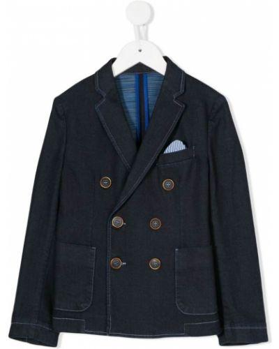 Куртка джинсовая синий Tagliatore Junior