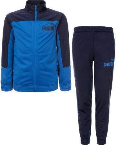 Синий спортивный костюм из полиэстера Puma