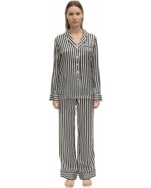Пижама с брюками на пуговицах с карманами Olivia Von Halle