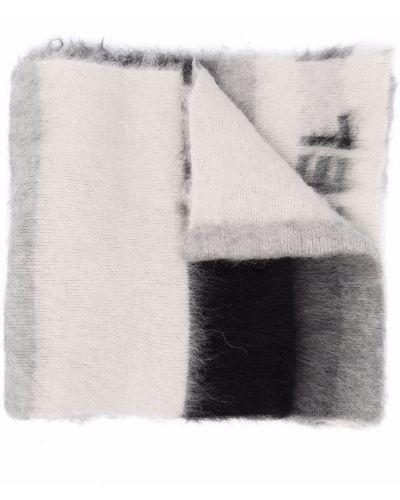 Шерстяной шарф - серый Sonia Rykiel