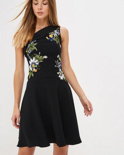 Вечернее платье осеннее черное Karen Millen