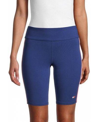 Niebieskie szorty bawełniane Tommy Hilfiger Sport