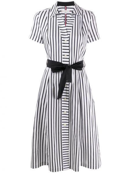 Платье миди платье-рубашка в полоску Tommy Hilfiger
