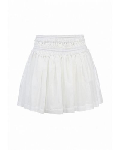 Белая юбка свободного кроя Sonia By Sonia Rykiel