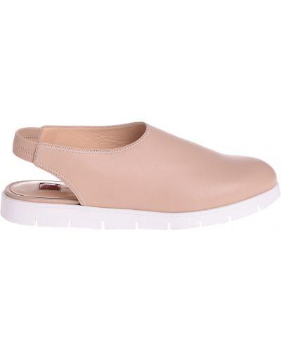 Кожаные сандалии - бежевые Ballin