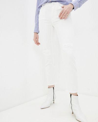 Прямые белые джинсы 7 For All Mankind